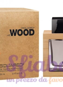 Profumo Wood Dsquared EDT 100ml Uomo