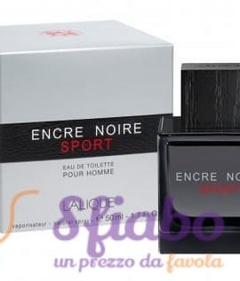 Profumo Lalique Encre Noir Sport EDT 50ml Uomo