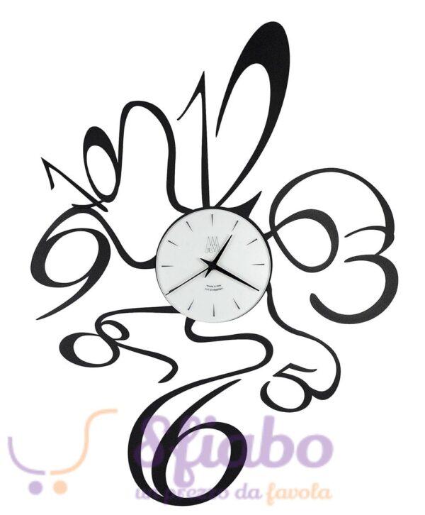 Orologio da parete Arti E Mestieri Scooby Doo nero