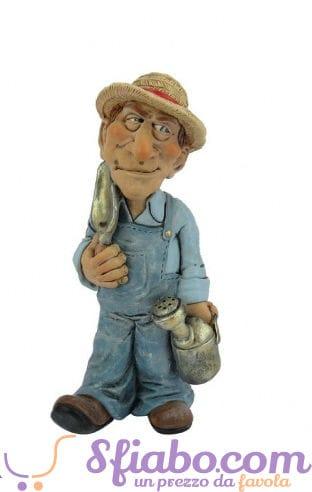 Statuina caricatura Contadino- Giardiniere