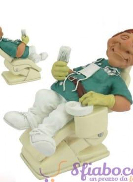 Statuetta Caricatura Dentista in poltrona