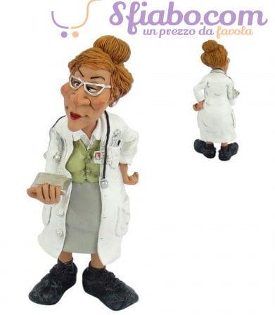 Statuetta caricatura Dottoressa