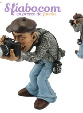 Statuina caricatura Fotografo
