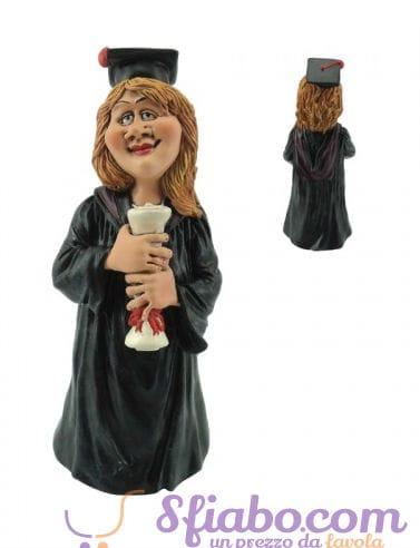 Statuina caricatura della Laureata