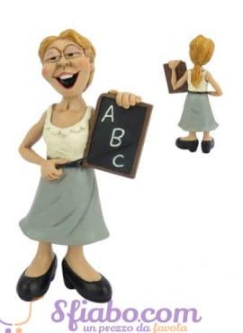 Statuina caricatura Maestra