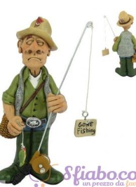 Statuina caricatura Pescatore