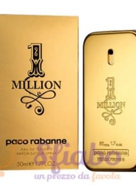 Profumo Paco Rabanne One Million 50ml EDT Uomo