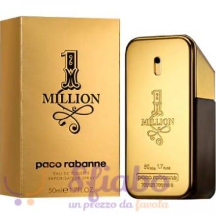 Profumo Paco Rabanne One Million 50ml EDT Uomo
