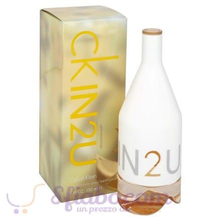 Profumo Donna Calvin Klein In2U Her EDT 150ml