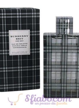Profumo Burberry Brit 100ml EDT Uomo