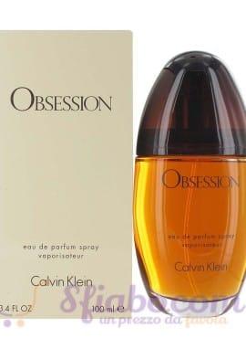 Profumo Calvin Klein Obsession EDP 100ml Donna