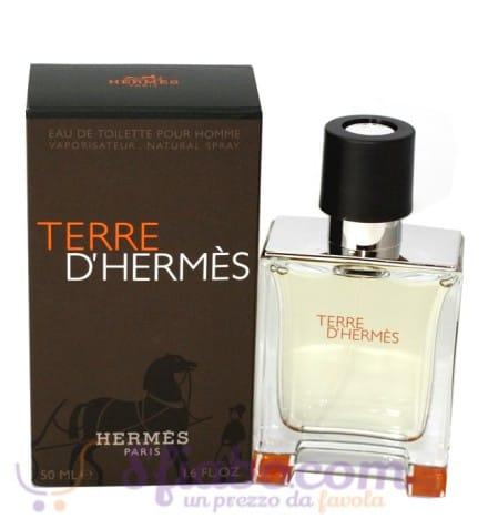 Hermes Terre D'Hermes Eau De Toilette 50ml Uomo