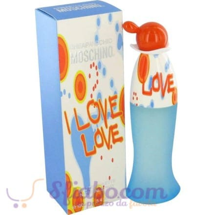 Profumo Moschino Cheap And Chic I Love EDT 100ml Donna