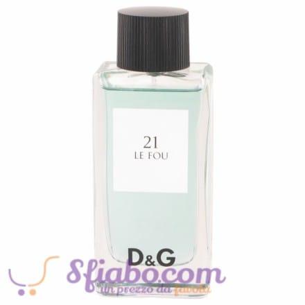 Tester Dolce & Gabbana EDT  N°21 Le Fou Uomo 100ml