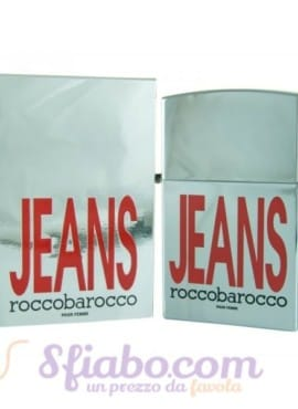 Profumo Roccobarocco Jeans EDT Donna 75ml