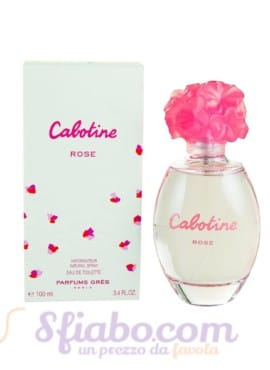 Profumo Gres Cabotine Rose Donna EDT 100ml