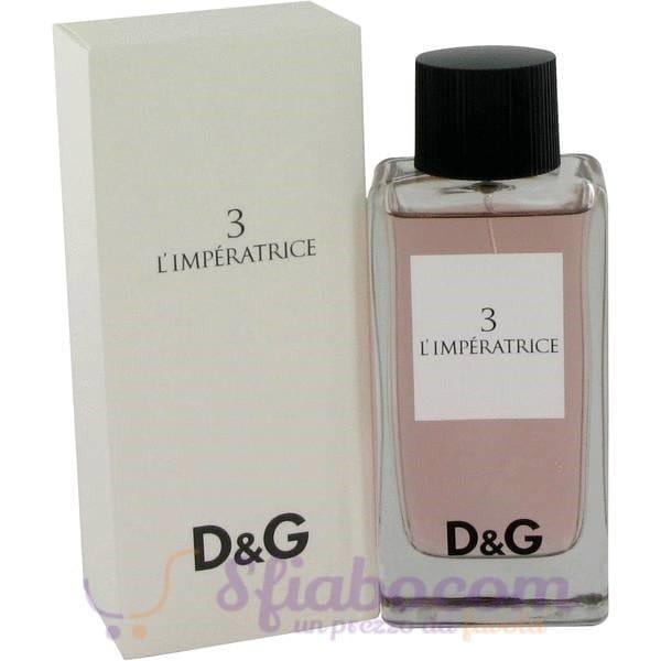quality design e0f23 0641c Profumo Dolce e Gabbana L'Imperatrice n. 3 EDT 100ml