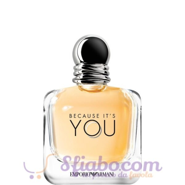 ARMANI BECAUSE ITS YOU EDT 100ml tester UOMO
