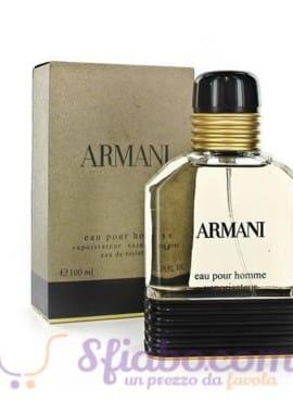 Profumo Giorgio Armani Eau Pour Homme EDT Uomo 100ml