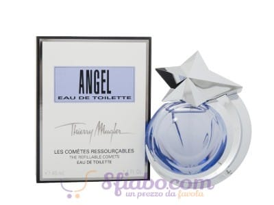Profumo Thierry Mugler Angel Eau De Toilette Donna 40ml