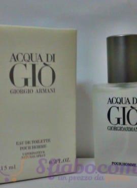 Profumo Giorgio Armani Uomo Acqua Di Giò 15ml Eau De Toilette
