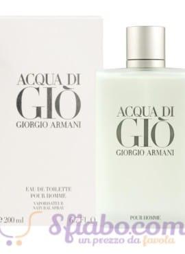 Profumo Armani Uomo Acqua Di Giò 200ml Eau De Toilette