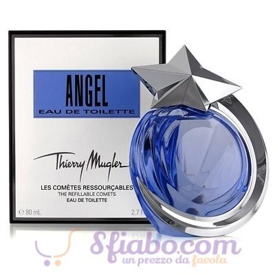 Profumo Thierry Mugler Angel Eau De Toilette Donna 80ml