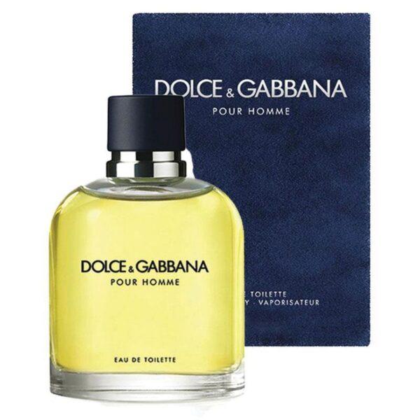 Profumo Inscatolato Uomo Dolce & Gabbana Pour Homme EDT 125ml