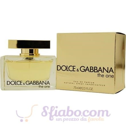 Profumo Donna Dolce & Gabbana The One 75ml EDP