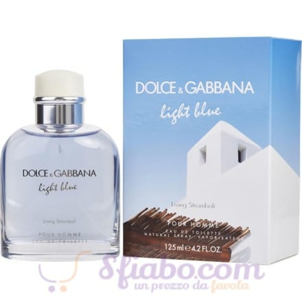 Profumo Uomo Dolce & Gabbana Light Blue Living Stromboli 125ml