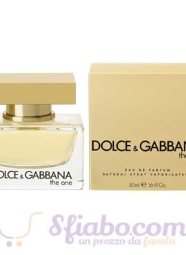 Profumo Donna Dolce & Gabbana The One 50ml Eau De Parfum