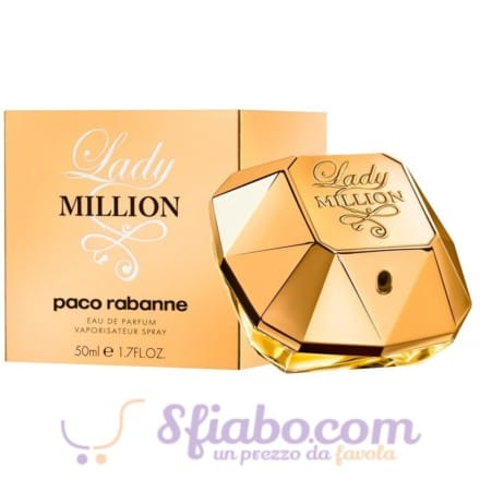 Profumo Lady Million 50ml EDP Donna Paco Rabanne
