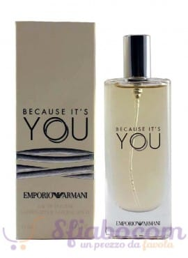 Profumo Giorgio Armani Because It's You EDT 15ml Donna