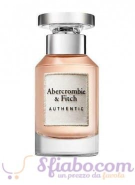 Tester Profumo Abercrombie & Fitch Authentic EDP Donna 100ml