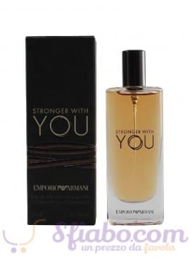 Profumo Giorgio Armani Stronger With You EDT Uomo 15ml