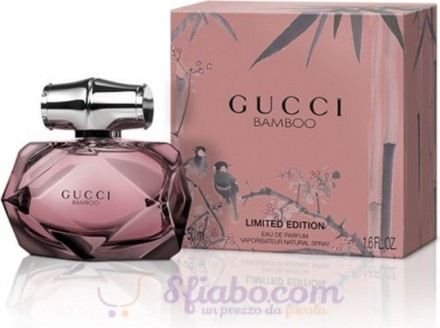 Profumo Gucci Bamboo Limited Edition Donna EDP 50ml