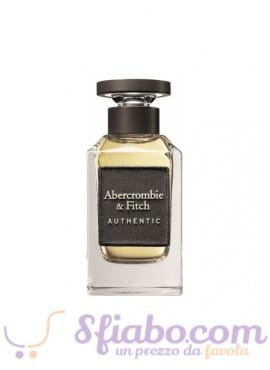 Tester Profumo Abercrombie & Fitch Authentic EDT Uomo 100ml