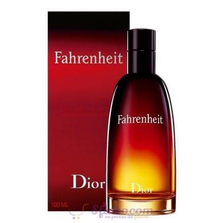 Profumo Fahrenheit Christian Dior EDT Uomo 100ml