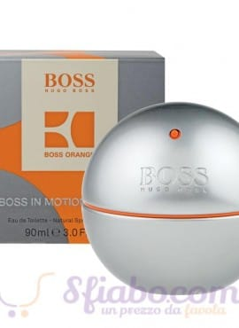 Profumo Hugo Boss In Motion EDT Uomo 90ml