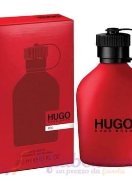 Profumo Hugo Boss Red EDT 200ml Uomo