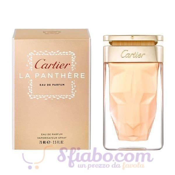 profumo cartier la panthere edp donna 75 ml