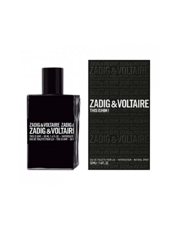 ZADIG VOLTAIRE THIS IS HIM EDT 50ml