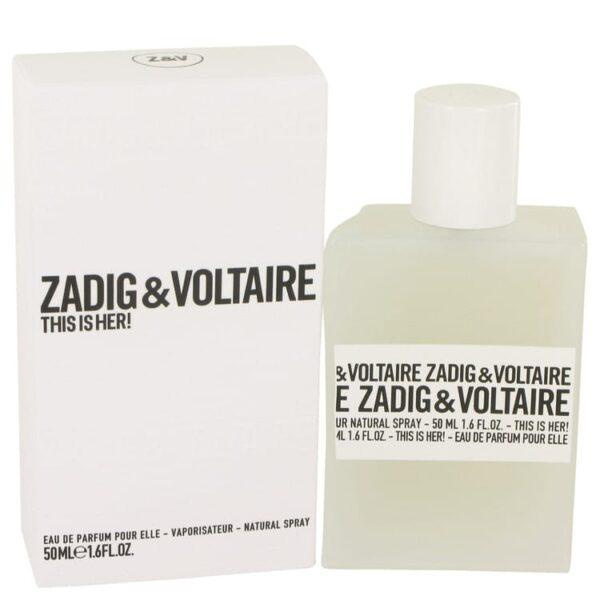 Zadig Voltaire This is Her Eau De Parfum 50ml
