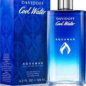 Profumo Inscatolato Uomo Davidoff Cool Water Aquaman Edition Eau de Toilette da 125ml