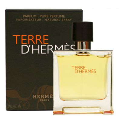 Terre DHermes Parfum Uomo 75ml edp